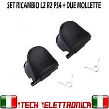 Set L2 R2 CONTROLLER tasti R2 + L2 + 2 MOLLE JDS-001/011 RICAMBI PS4