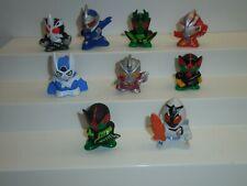"Bandai Masked Rider Kamen Rider Super Sentai Soft Vinyl 2"" Finger Puppets"