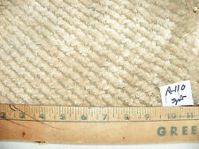 Tan Beige Slub Chenille Fabric / Upholstery Fabric 1 Yard R110