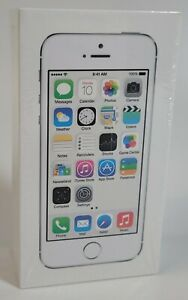 Brand New Fast shipping Apple iPhone 5s - 16GB - Silver (Unlocked) A1533 (GSM)