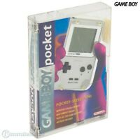 Nintendo GameBoy Pocket - Konsole #silber mit OVP / Crystal Case