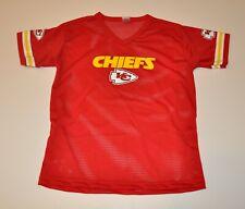 NWOT Kansas City Chiefs Boys Youth Mesh Jersey (M) Medium Shirt T-Shirt NFL