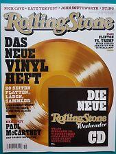 Rolling Stone mit CD Ausgabe 264 Oktober 2016 ungelesen 1A absolut TOP
