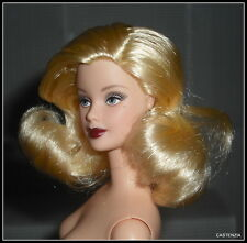 NUDE BARBIE (X) HOLLYWOOD CAST PARTY BLONDE GREY EYES MACKIE DOLL FOR OOAK (X)