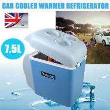 Car Refrigerator Electric Cool Box Cooler Motor Home Camping Fridge 7.5L12V UK