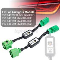 2pcs Semi Dynamic Turn Signal Indicator LED Tail light For Audi A3 8V  g