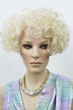Medium Short Aspen Jazz Wavy Curly Blonde Brunette Red Wigs