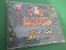 10 X Bustina Figurine Stickers TOP MODEL Euroflash Packet Tüten Pochette CH