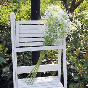 2pcs Artificial Fake Silk Flowers Gypsophila Party Wedding Decors Bouquet #A05