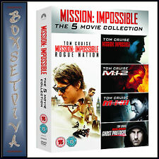 MISSION IMPOSSIBLE 1 2 3 4 & 5 COLLECTION  *BRAND NEW DVD BOXSET***