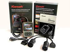 iCarsoft HD1 OBD Diagnosegerät LKW Auslesegerät Universal verwendbar inkl. CAN