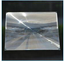 Large PMMA Plastic LED Solar Fresnel Condensing Lens Solar Energy Condenser Lens
