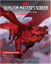 D&D Dungeons & Dragons - Dm Dungeon Master's Screen Reincarnated [New & Sealed]