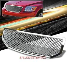 Front All Chrome Mesh Sporty Style Grille Grill for Dodge 06-10 Caliber