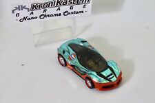Hot Wheels La Ferrari Blue Spectra / Orange Custom