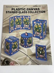 Needlecraft Ala Mode Leaflet 151 Stained Glass Collection Patterns