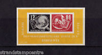 Germany (East) - 1950 Debria Miniature Sheet - Mounted Mint - SG MSE29a