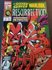 Silver Surfer Warlock Resurrection #3 Marvel Comic May 1993