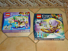 LOT LEGO FRIENDS 41315 + Elves 41184 Le Dirigeable d'Aira NEUF SCELLE