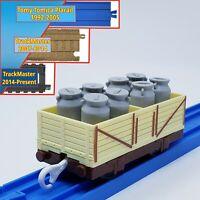 Thomas Plarail Jiggling Shaking Milk Wagon - Trackmaster Tomy Compatible