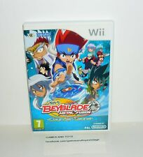 JEU NINTENDO WII COMPLET BEYBLADE METAL FUSION REF 77