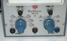 New Listingrca Voltohmyst Test Meter Model Wv 77e Ac Volt Ohm Multimeter Works Great 5x8