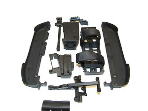 Corally Dementor XP 6S Monster Truck Chassis Parts, RX Box, Battery Box, Sides