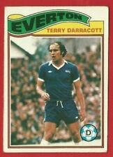 TOPPS FOOTBALLERS 1978 - ORANGE BACK TRADE CARD 194 - TERRY DARRACOTT  (OK03)