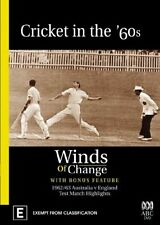 Cricket In The 60's - Winds Of Change (DVD, 2-Disc Set, 2006) c3