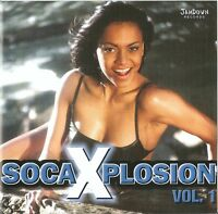 SOCA XPLOSION VOL.1 / VARIOUS ARTISTS / 2 CD-SET / NEUWERTIG