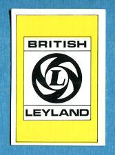AUTO FLASH - Ed.COX - Figurina/Sticker n. 176 - BRITISH LEYLAND (GB) -New