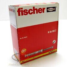 FISCHER Dübel 50357 Nageldübel mit Schrauben N 8x100 Z VPE = 50 Stück - NEU