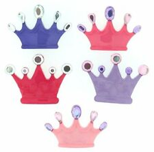 "Dress It Up Buttons ~ Jesse James""Princess Crowns"" # 7682"