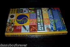 Just Say Sire The Sire Records Story NM 3 CD 1 DVD Box Set Rhino Records USA