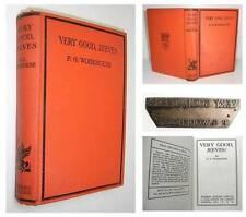 1931 P G WODEHOUSE Very Good Jeeves with RARE ORIGINAL PRINTING PLATE
