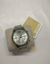 Michael Kors Lexington MK8405 Wrist Watch for Men 45mm Case NEW