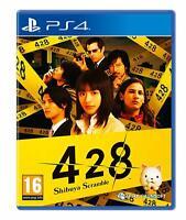 428 Shibuya Scramble Playstation 4 PS4 **BRAND NEW & SEALED!!**