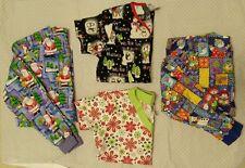 *Christmas Holiday Winter Scrub Jackets Tops S Small Santa Snowmen Snowflakes