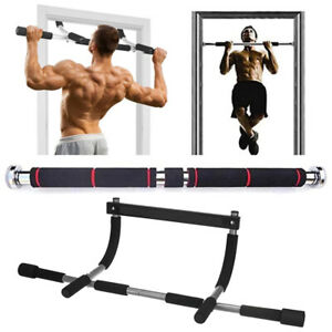 Adjustable Door Chin Up Pull Up Bar Horizontal Bars Exercise Home Workout Gym