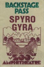 Spyro Gyra 1979 Tour Backstage Pass Okc Zoo Amphitheatre