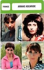 FICHE CINEMA :  ARIANE ASCARIDE -  France (Biographie/Filmographie)