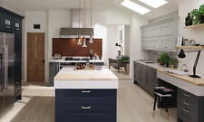 Fitzroy Painted Stone (Second Nature) Kitchen units & doors Rigid Built