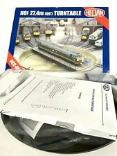 More details for heljan ho / oo  turntable  89121 dcc fitted.