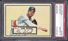 1952 Topps Baseball #139 Ken Wood (Boston Red Sox) PSA - 8 NM - MT NICE!