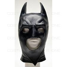 Batman Dark Knight Adult Batman Masque Costume Cosplay PVC Noir *Taille Unique*