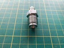 "Goodridge Brake adaptor 3/8x24 unf to 9/16""x18 UNF Inverted flare plated steel"