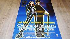 CHAPEAU MELON ET BOTTES DE CUIR !  affiche cinema