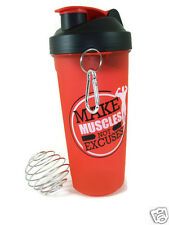 Ski Gym Protien Shaker Sipper bottle +700ml, Milk shake Red Color BPA Free