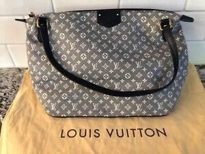 Louis Vuitton Mini Lin Canvas NAVY Handbag