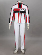The Prince Of Tennis  Cosplay Japan U17 Winter White Uniforms Any Size